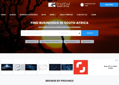 FreeFind South Africa