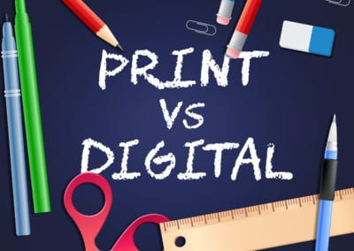 Mixed Mediums: Print And Digital Marketing Can Work Together